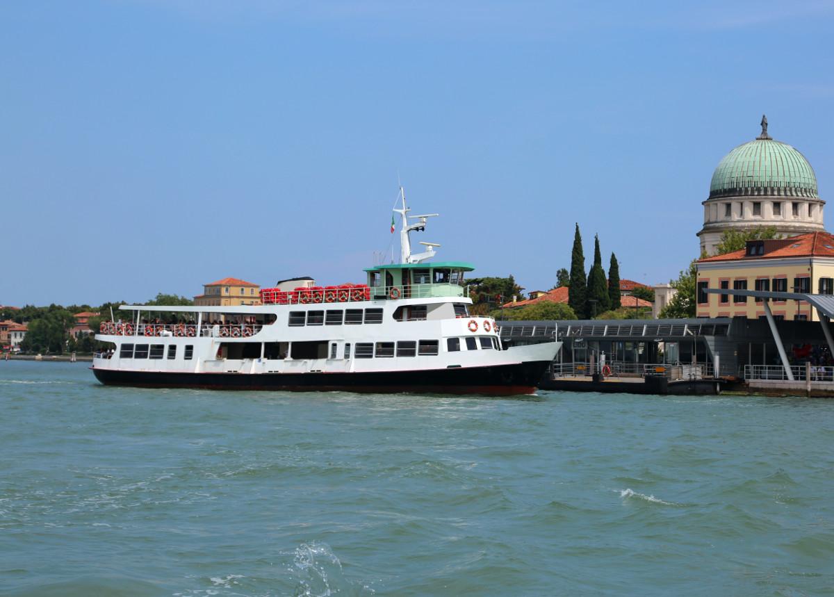 Ride the waterbus in Venice.